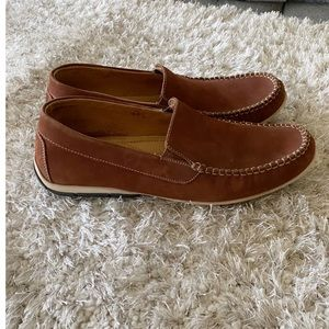 Clarks Brown Slide On Shoes Size 12